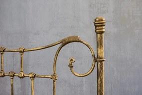 Cama de Ferro Francesa Solteiro - Sem desenho da peseira
