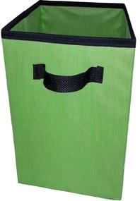 Caixa Organizadora De 28X30X28 Verde LimÁo Com Alça