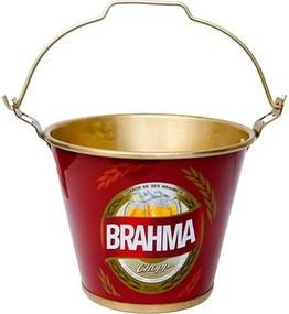 Balde de Gelo em Alumínio 5 Litros Brahma