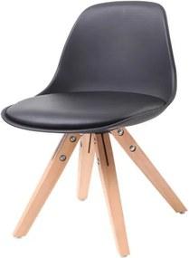 Cadeira Infantil Eames Luisa MKC-028 PP Preto - 36001 Sun House