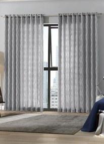 Cortina com Forro Branca 420x250 cm
