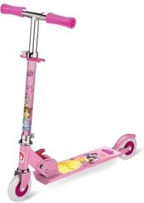 Patinete 2 Rodas Princesas Disney Rosa Bandeirante - 2172