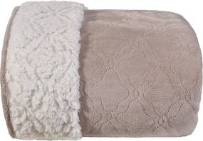Cobertor Sherpa Pele de Carneiro Casal Fendi - Tessi