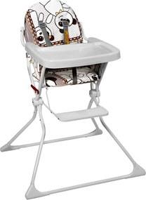 Cadeira de AlimentaçÁo Standard ll Panda Galzerano Marrom