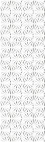 Porcelanato Leque Branco Acetinado Retificado 32x100cm - 4341 - Ceusa - Ceusa