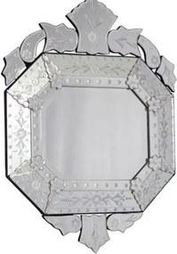 Espelho Veneziano Oitavado 70x50cm