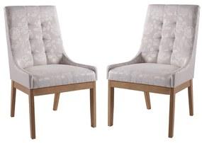 Conjunto 2 Cadeiras de Jantar Grécia - Wood Prime MF 15388