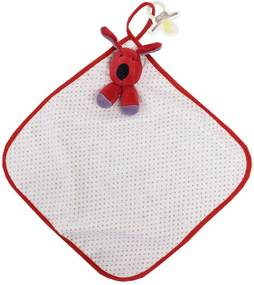 Toalha de Boca Blanket Cetim - Cachorrinho Greg Poá - Zip Toys