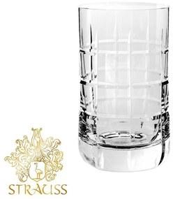 Jogo de 06 Copos de Cristal Lapidado P/ Água