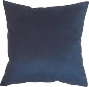 Capa de Almofada Lisa Azul 45x45cm