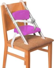 Cadeira de AlimentaçÁo Portátil Hang N Seat Roxo Tinok