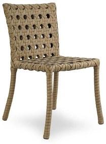 Cadeira Java Área Externa Fibra Sintética Estrutura Alumínio Eco Friendly Design Scaburi