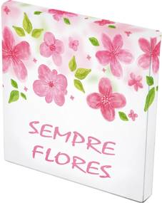 Tela Prolab Gift Flowers Rosa