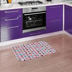 Tapete de Cozinha Mdecore Lhama Colorido40x60cm