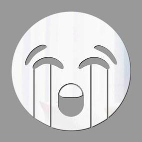 Espelho Decorativo Emoji Chorando