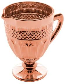 Jarra Vidro Brand Rose Metalizado 1 Litro 28304 Bon Gourmet
