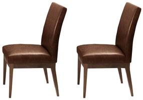 Conjunto 2 Cadeira Decorativa Luana Couríssimo Facto Whisky