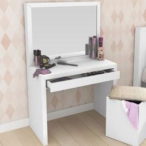 Penteadeira Pe2000 Branco Com Espelho - Tecno Mobili