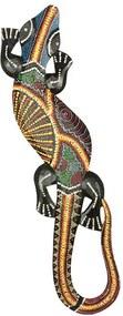 Lagarto Gecko p/ Parede 50cm - Bali