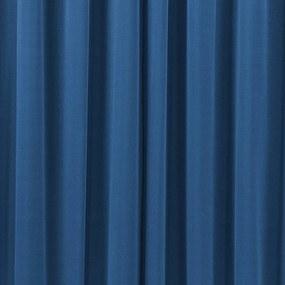 Cortina DOURADOS ENXOVAIS Beatriz Royal/Branco 3,00 X 2,60