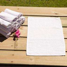 Toalha para Manicure e Pedicure - 28x45cm - Princesa -Branco