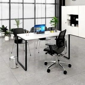 Escrivaninha Industrial Kuadra ME135 Branco - Compace