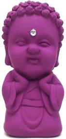 Buda Baby da Harmonia com Cristal (9cm) - Amarelo Cádmio