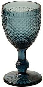 Taça Vinho Branco Bico de Jaca Azul