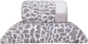Cobertor Queen Slim Peles Dupla Face com Porta Travesseiro - Native