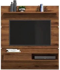 Painel Home Suspenso para TV até 60 Polegadas Santorini Rústico Terrara - Dj Móveis