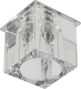 Plafon Embutir Cristal Cromado 12V