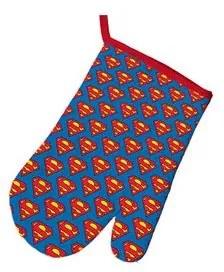 Luva para Cozinha Superman Azul Dc Comics