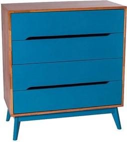 Cômoda Primavera Azul - Wood Prime MP 1041600