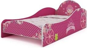 Cama De Princesa Infantil Menina Gelius Pink Plock
