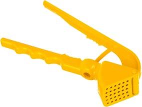 Espremedor de Alho Oia Decor Plus Amarelo