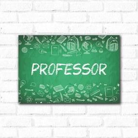 Placa Decorativa Professor - Grande 30x45cm