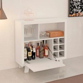 Bar Adega Ad5002 Branco - Tecno Mobili