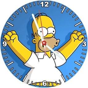 Relógio Decorativo Simpsons Homer