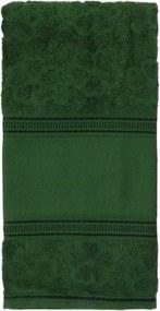 Toalha de Rosto Appel Ponto Russo - Aquarela p/ Pintar Verde
