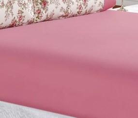 Roupa de Cama Casal King Naturale 200 Fios 03 Peças - Rosa