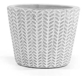 Mini vaso de cimento minimal