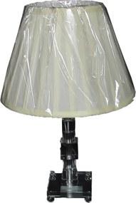 Abajur de Mesa Clássico em Cristal 43 cm X 28 cm