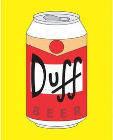 Quadro Decorativo Beer Duff 015