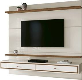 Painel Treviso 1.60 Off White/Naturale  E.D.N
