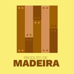 Placa Decorativa em Madeira Fusca Vermelho Urban Home