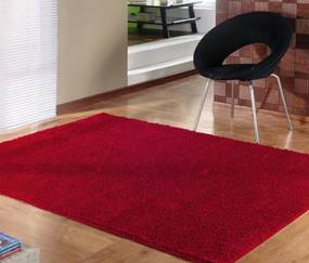 Tapete Classic Apolo Perfil Baixo 1,00m x 1,50m - Vermelho
