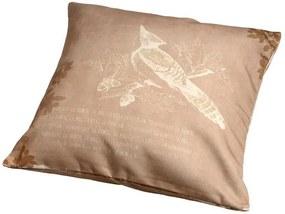Almofada Decorativa Pássaro I de Algodão com Enchimento