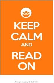 Poster Keep Calm And Read On (60x90cm, Apenas Impressão)