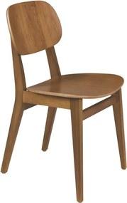 Cadeira Sem Braços London Amêndoa Marrom - Tramontina