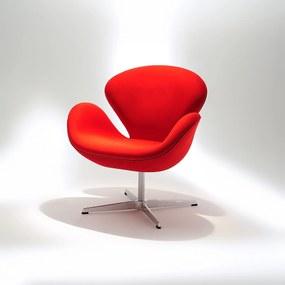 Poltrona Swan Base Giratória Alumínio Studio Mais Design by Arne Jacobsen